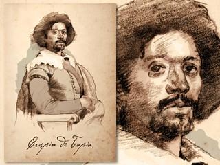 Artist's rendering of Crispin de Tapia