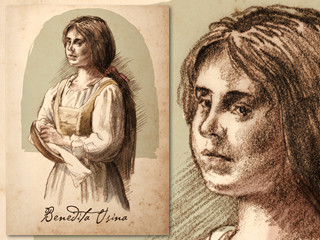 Artist's rendering of Benedita Usina