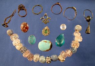 Jewelry worn by Spanish women and girls in eighteenth century St. Augustine