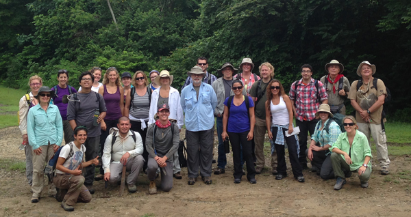 A group photo of the 2015 GABI-RET participants in Panama. Photo courtesy of Claudia Grant.