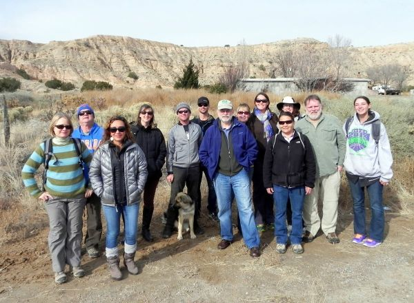 A group photo of the 2014 teacher cohort for GABI-RET. Photo by Scott Flamand.