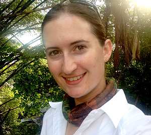 Christina Byrd, former PCP PIRE intern. © Photo Christina Byrd.
