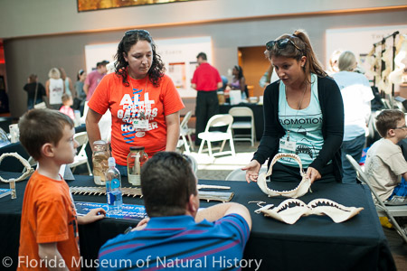 FPSR staff at a Florida Museum outreach event.