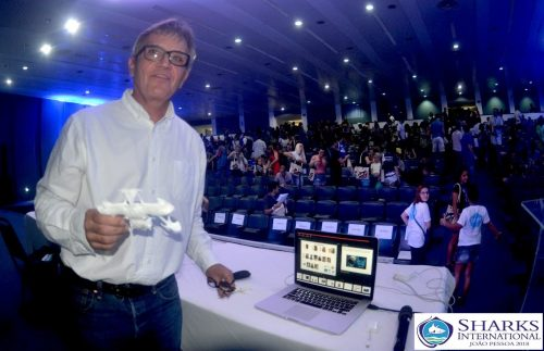 Sharks International 2018 João Pessoa, Brazil Keynote Speaker Gavin Naylor