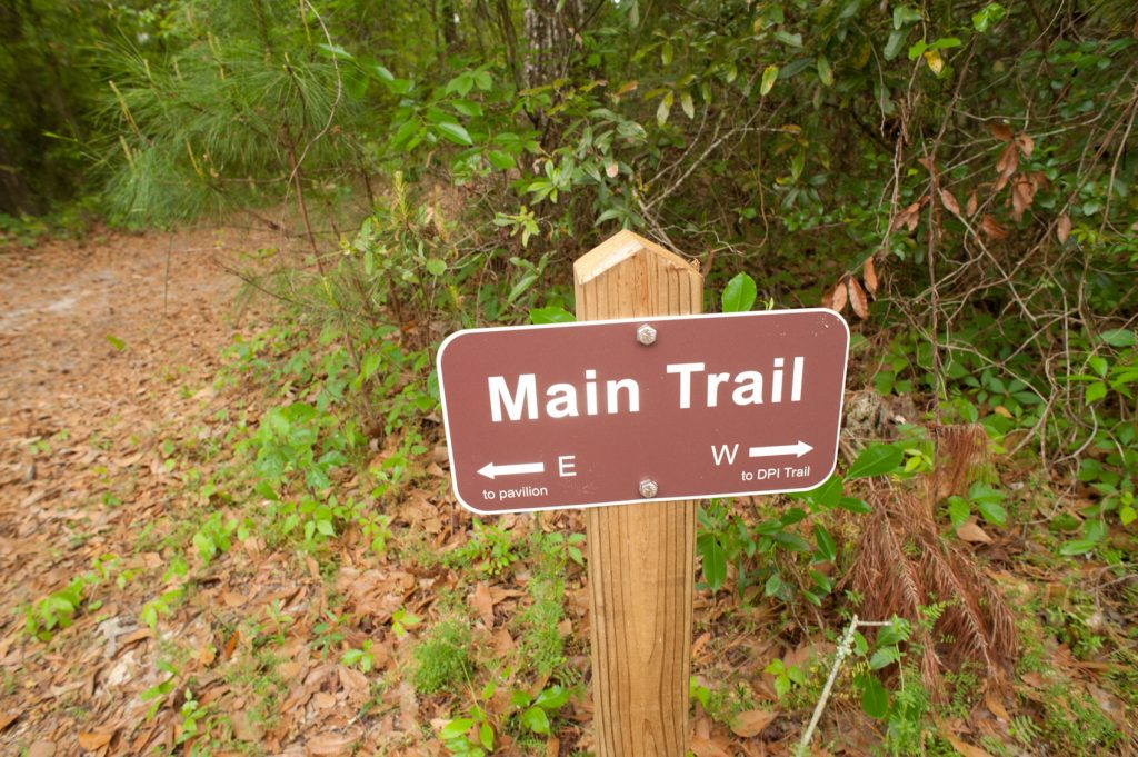 NATL trail sign