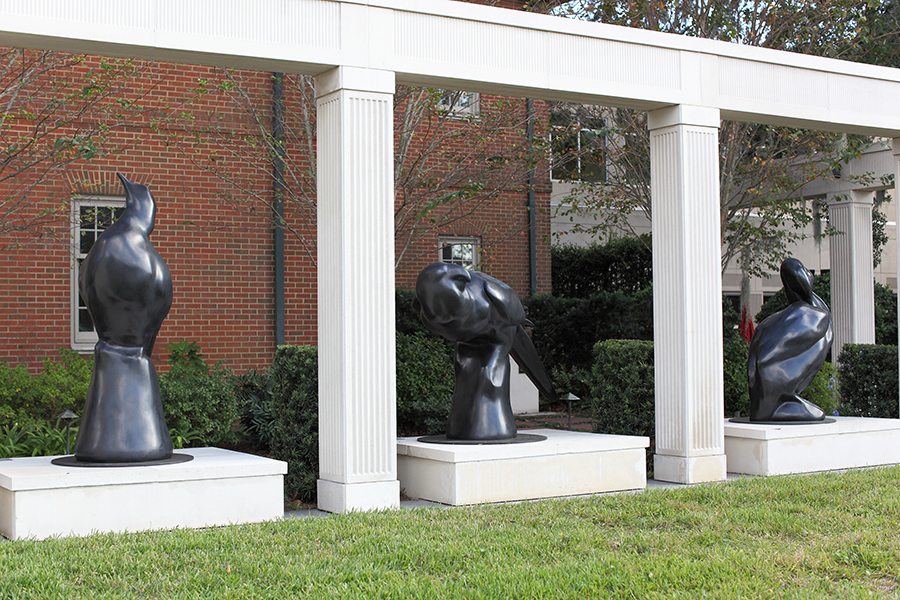 Todd McGrain sculpted each cast-bronze statue. The process of creating and installing the statues took about 10 years. ©Photo courtesy of the Cummer Museum of Art & Gardens