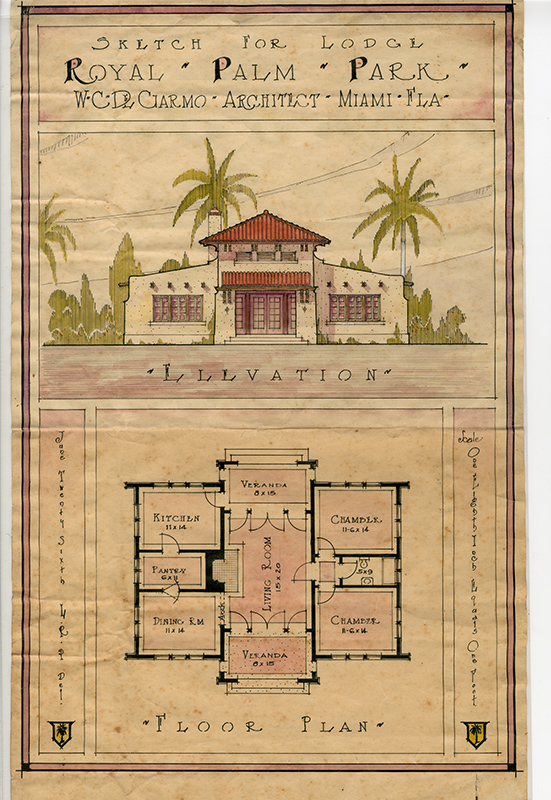 blueprints of hotel