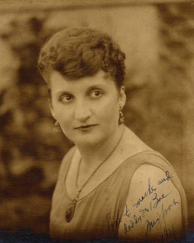 Portrait of Marjory Stoneman Douglas.