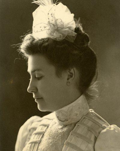Portrait of May Mann Jennings.