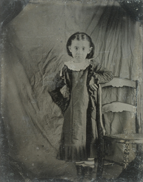 Black and white portrait of young Jennings.