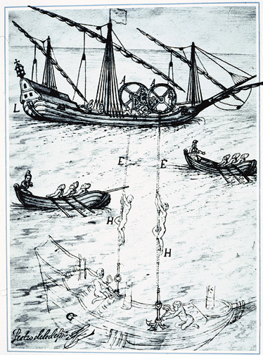 salvage illustration