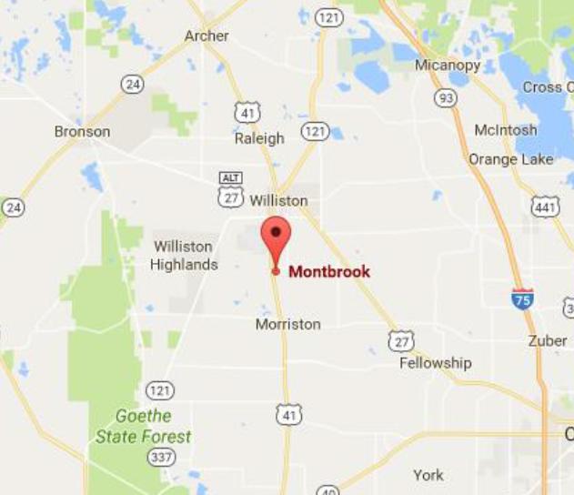 Williston Florida Map.Why Montbrook Montbrook Fossil Dig Blog