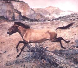 Painting of horse