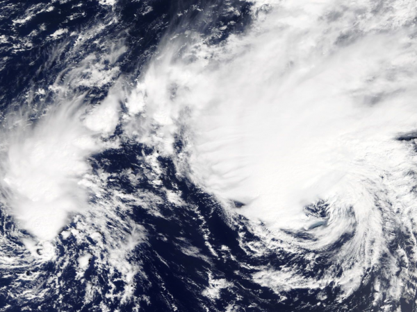 hurricanes helene and joyce