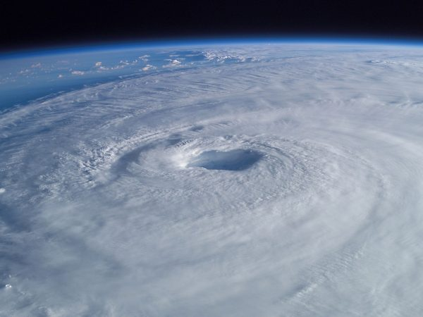 Hurricane Isabel from the International Space Station