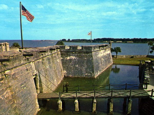 old st. augustine photo castillo san marco