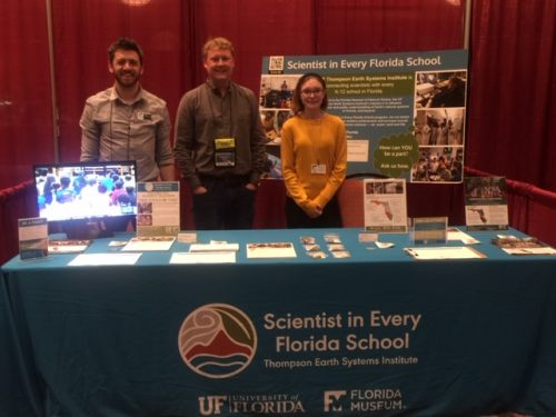 SEFS group at booth