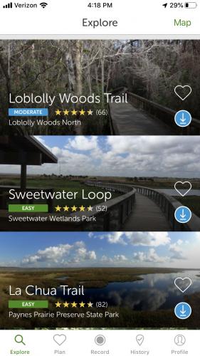 AllTrails Mobile App