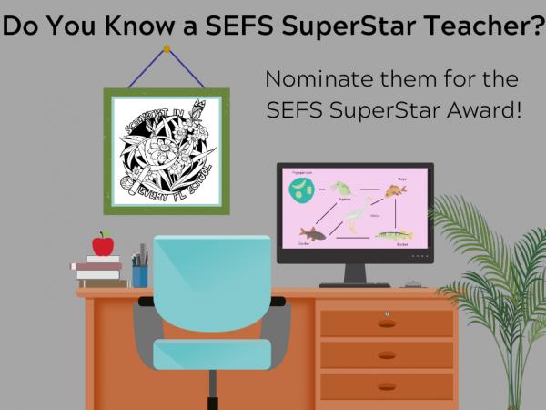 Do you know a SEFS SuperStar Teacher?