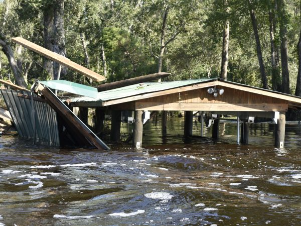 hurricane Irma flooding aftermath in Clay County