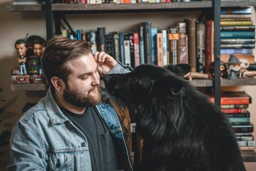 david ian how with dog