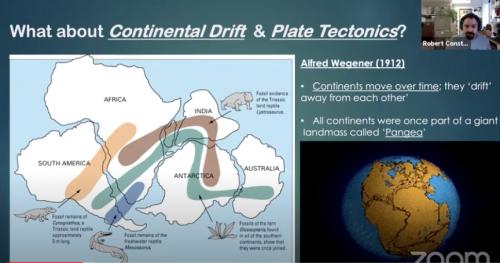Plate Tectonics with Robert Constanteau