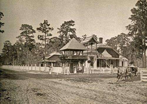 Gail Borden Park at Green Cove Springs.