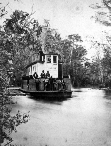 Steamboat Marion on the Ocklawaha River
