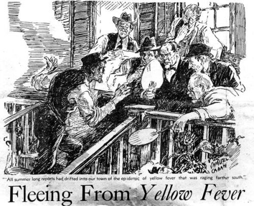 Drawing related to Yellow Fever