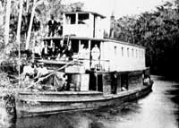 excursion boat on the Ocklawaha river