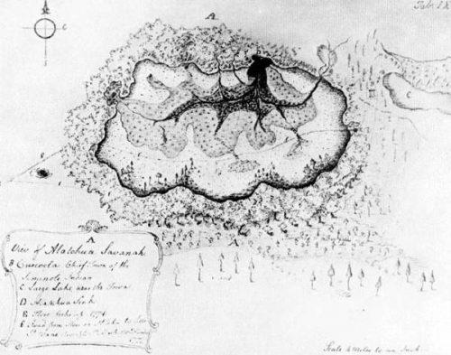 map of alachua savannah