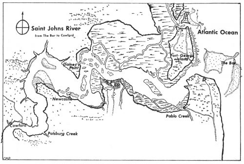 St. Johns River map