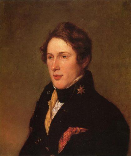 portrait of Titian Ramsay Peale by Charles Wilson Peale