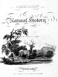 natural history title page