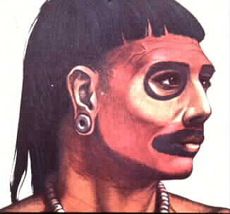 Lucayan face