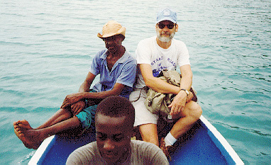 Dr. Keegan in Haiti