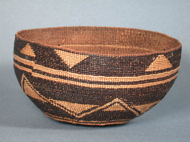Twined Basketry Hat