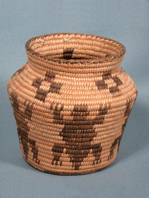 Coiled Basketry Jar