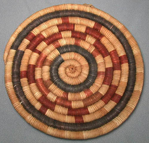 Coiled Basketry Plaque