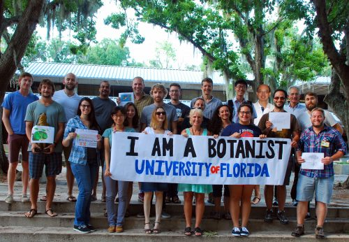 Photo of proud botanists: #iamabotanist #reclaimthename #botany botany.org