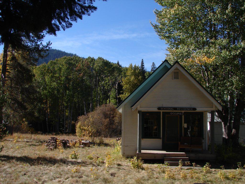 Seven Mile Guard Station near Klamath Lake.