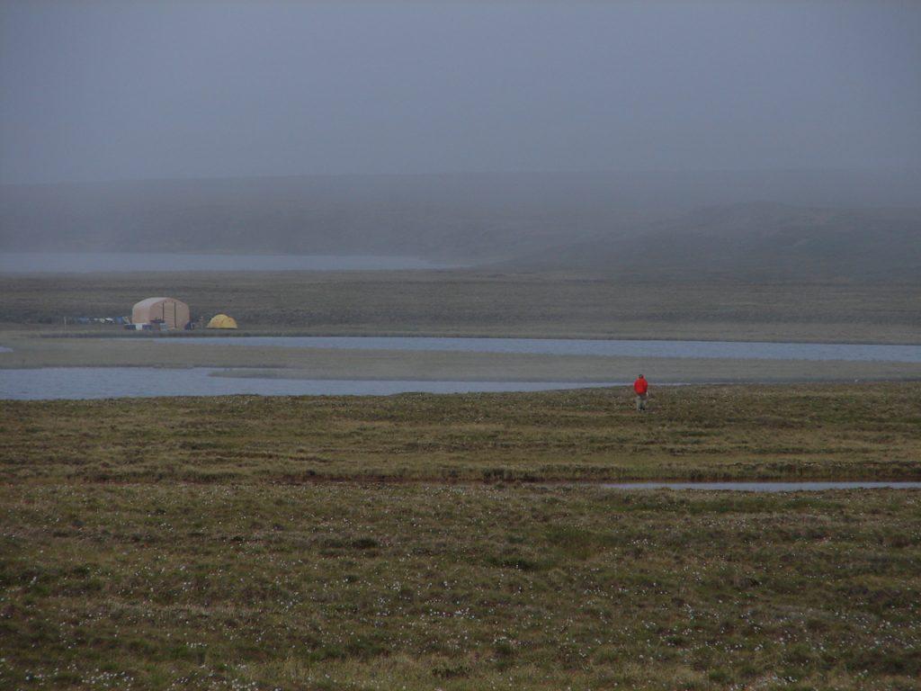 Field camp near Teshekpuk Lake on the North Slope.