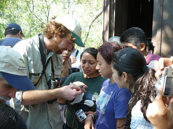 Certification and workshop at El Imposible National Park, El Salvador.