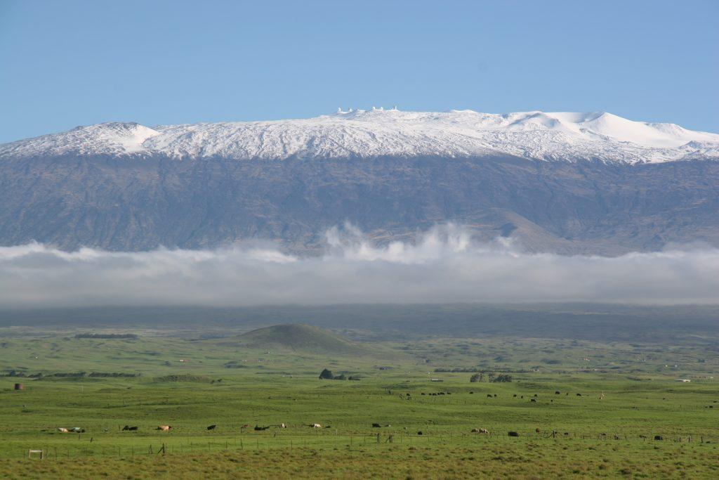 Mauna Kea.