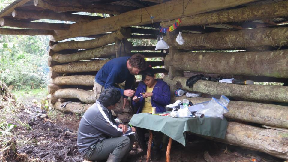 Banding at the Private Conservation Area Hierbabuena-Allpayacu