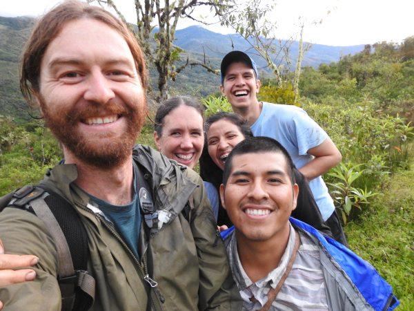 Ian, Felicity, Felipe (Cali, Colombia), Vikki (Bagua Grande, Peru), and Nicolas (Arequipa, Peru).
